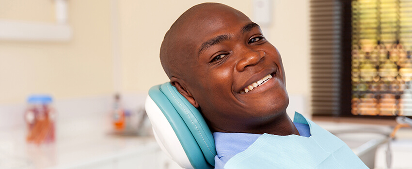 Smiling Patient image
